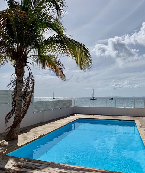 GRAND CASE – Saint Martin – Appartement 109m2 sur la plage de Grand Case